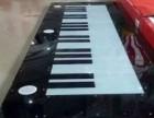 可7键可14键好玩地板钢琴出租啦