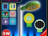 5W锂电池太阳能庭院灯便携式LED灯头深圳太阳能庭院灯厂家