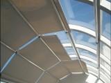 通州北苑附近定做电动天棚阳光房电动遮阳帘室外电动天幕厂家