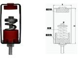 深圳隔音减震弹簧吊钩厂家直销TD-30型红色硅胶垫