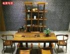 花梨木黄花梨奥坎巴花大板实木红木老板桌餐桌办公桌吧台