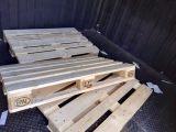 二手叉车木栈板物流周转托盘 仓库防潮垫仓板 出口欧标铲板卡板