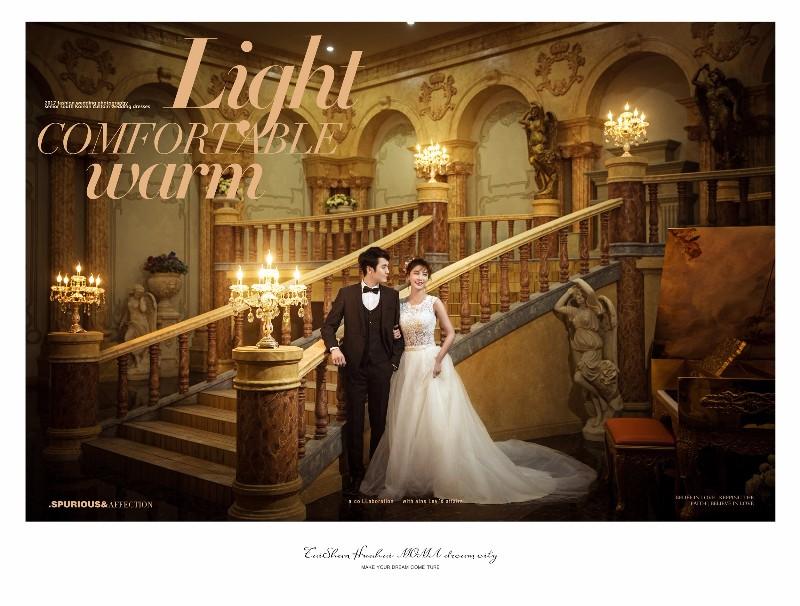 拍婚纱照 就找泰山花海摩玛梦想城