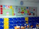 山西ABS塑料更衣柜 教室储物柜 太原幼儿园彩色存放书包柜