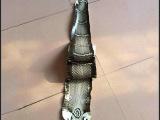 长期供应 环保蛇纹皮革 亮色蛇纹皮革 凹凸蛇纹皮革