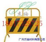 现货供应市政黑黄移动铁马护栏安全隔离防护铁马护栏