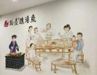 专业彩绘 面馆手绘餐饮壁画背景墙绘画主题手绘墙图案