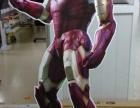 广州喷画公司精细制作异形展板喷绘人像KT板