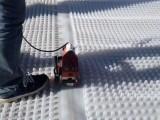 蓄水排水异形片 复合排水板 蓄排水板 虹吸式自粘排水板