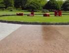 成都透水地坪//彩色压花地坪彩色透水沥青上海誉臻路面新材料