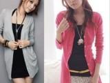 2013新款韩版长袖纯棉中长款艾格开衫外套打底针织衫空调衫女款