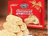休闲零食品喜糖果 雅伯营养麦片燕麦巧克力500g*20整箱装 批