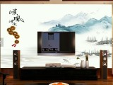 安阳厂家定制3D电视背景墙玉雕背景墙