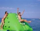 充气城堡室外充气水滑梯大型支架游泳水池鲸鱼岛乐园水上冲关