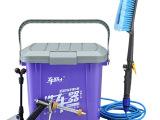 批发车路士电动洗车器便携高压自助洗车机带滑手动家用车载刷车器