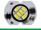 配件厂家 LED筒灯配件仿COB6W免驱220V新款天花灯球泡灯