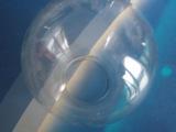 批发供应 G60球形防潮玻璃灯罩 led灯具配件 圆形玻璃灯罩