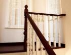 宝石花楼梯立柱样式 上海楼梯厂家定制 橡木楼梯实木