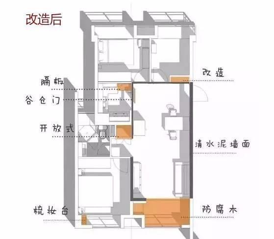 长沙岳麓区家庭装修 精装房改造