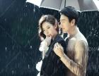 拍一个特别的雨景婚纱照
