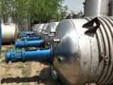 低价出售二手反应釜 不锈钢电加热反应釜 搪瓷反应釜内盘管