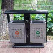 分类垃圾桶 镀锌板垃圾桶 果皮箱 厂家批发