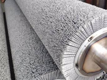 安徽杜邦丝刷辊定制 研磨 精整 抛光 去毛刺