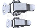 昆山索科斯304不锈钢双弹簧带锁搭扣工业设备配件