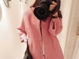 2013新款秋冬装呢子大衣毛呢外套中长女
