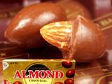 韩国进口果仁巧克力食品 乐天杏仁巧克力 大颗杏仁松好吃停不住