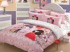 卡通结婚庆爱情系列 活性纯棉床上用品四件套 南通家纺一件代发货