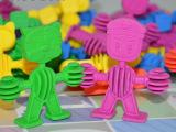 儿童玩具礼盒动物宝宝积木益智早教拼插拼装玩具幼儿园酷比家族
