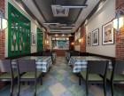 重庆南岸区南坪快餐店装修设计,南坪快餐店装饰设计效果图