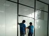 厦门玻璃隔断墙,不锈钢玻璃隔断 双玻百叶隔断,升降百叶隔断