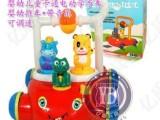 批发婴幼儿卡通电动手推玩具学步车  带音乐 可调速 265