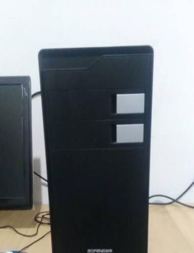 双核台式电脑19寸显示器