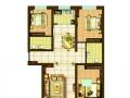 恒大名都两室两厅精装修带家具家电拎包入住。