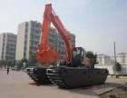 中国龙工210型河道清淤机械水上挖掘机租赁经营管理