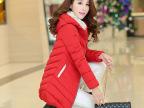 2014新款女装棉衣冬季新款棉服棉衣女中长款修身羽绒棉服棉袄外套