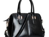 广州女包厂家直销2014新款油皮女包单肩斜挎手提包包一件代发
