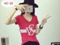 女装一手货源批发流行新款时尚外贸纯棉印花短袖T恤超低价批发
