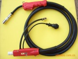 我厂专业生产二保焊枪及配件,代销铁氟龙送丝软管。