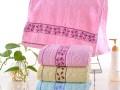 高阳厂家直销纯棉毛巾 地摊毛巾 素色提花洗脸巾