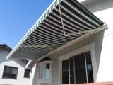 定制法式蓬 伸縮曲臂遮陽篷 西瓜半圓形弧形裝飾棚 曲臂遮陽篷
