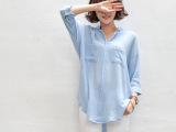 女装代理加盟韩国东大门韩国女装舒适衬衫