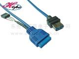 主板20pin转usb3.0转接线 USB3.0主板线数据线