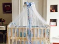 全新仅用一个月什么都带婴儿床孕婴店900多买的几乎全新