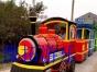 新型复古风格的仿古无轨小火车图片