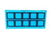 导电泡棉来图定做 电磁屏蔽导电泡棉 全方位导电泡棉