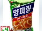 韩国进口食品零食 韩国农心洋葱圈原味84g*20袋/箱 另有辣味选择